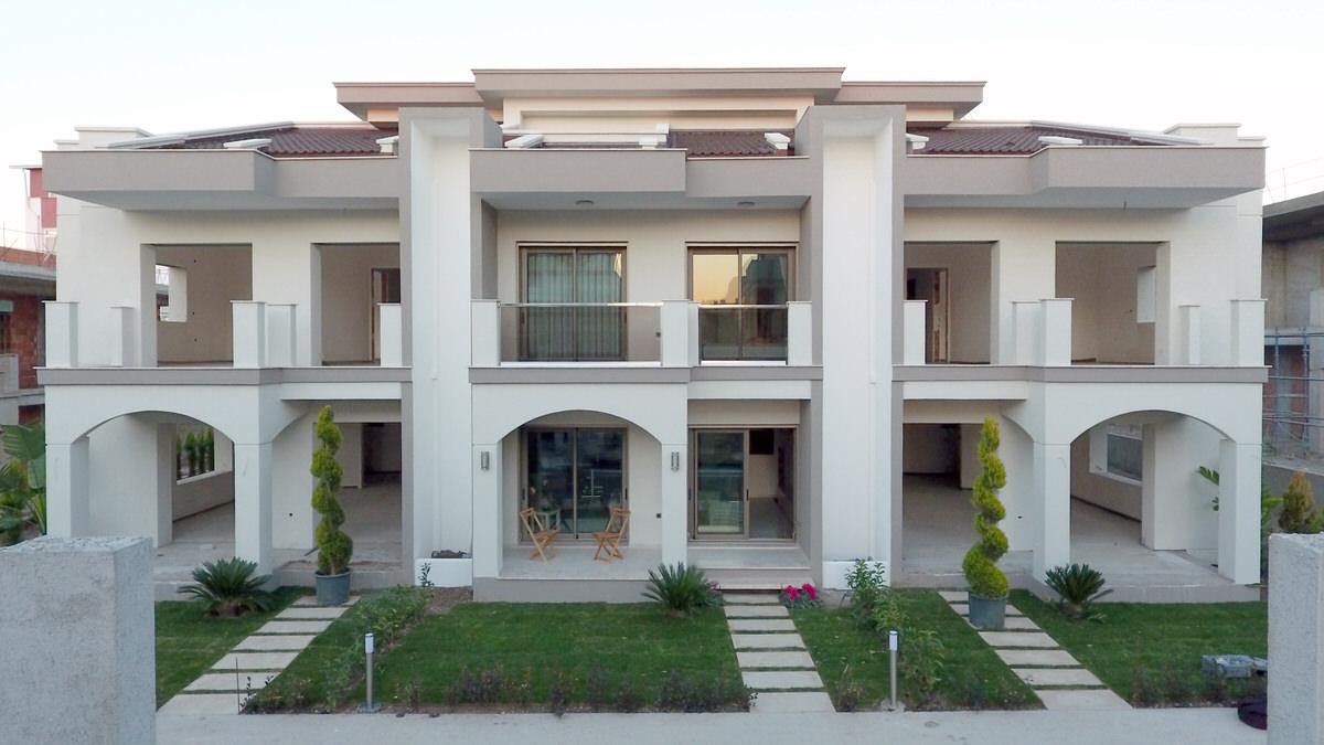 Yunusoğlu İnşaat, Urla Casablanca Evleri Örnek Villa Çalışmalarını Tamamladı!